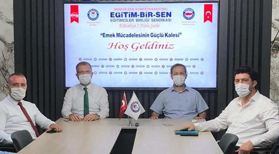 BAŞKAN CEYHUN'DAN SANDİKAMIZA ZİYARET